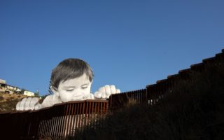 US-Mexico border boy