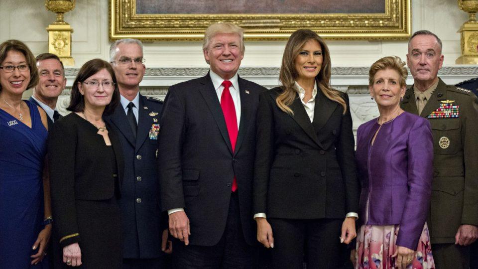 Trump calm before storm