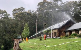 Warburton CFA captain called to fire at own house