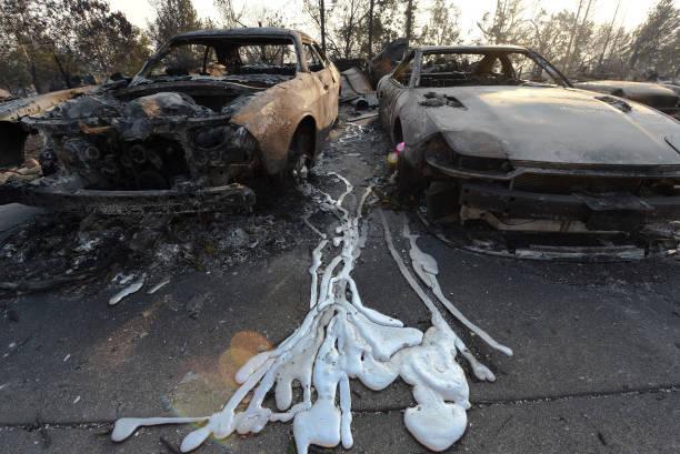 US - fire - california