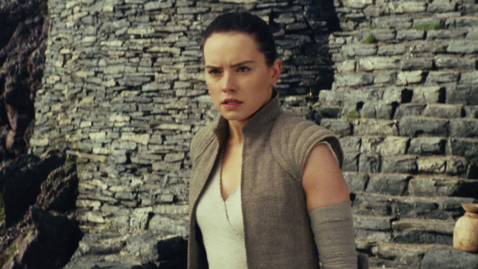 daisy ridley in the last jedi