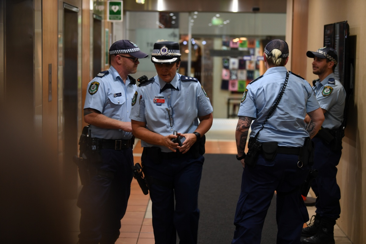 federal police raid awu