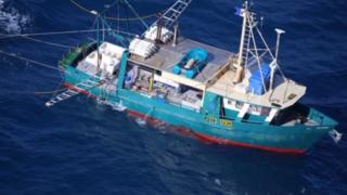fishing boat 'Dianne'