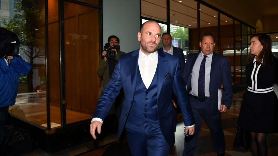 MasterChef's George Calombaris fined $1100 for punching man at A-League final