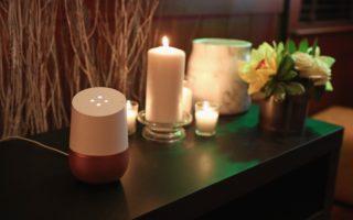 Google Home on display at Sundance 2017