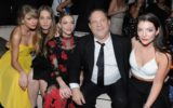 Recording artist Taylor Swift, musician Este Haim, actress Jaime King, producer Harvey Weinstein and recording artist Lorde attending The Weinstein Company & Netflix's 2015 Golden Globes After Party.