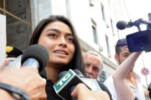 Italian model claims Harvey Weinstein sexually harassed her