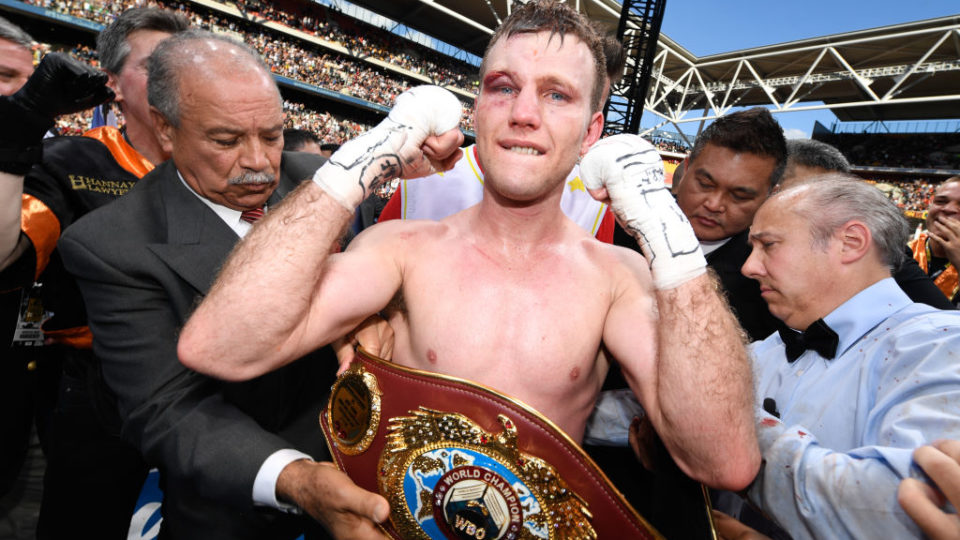 Manny Pacquiao v Jeff Horn