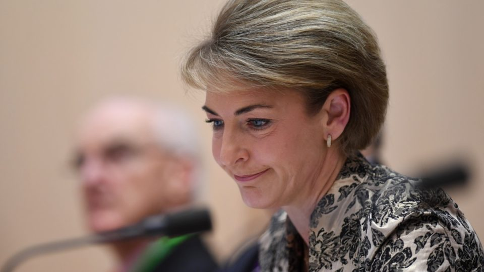Employment Minister Michaelia Cash Is Having An Absolutely Shithouse Morning