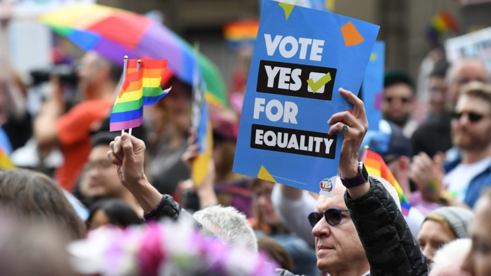 Majority of Australians have voted 'Yes' to same-sex marriage, poll shows