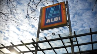 Aldi will hope to attract cash poor households with its cheap 'private label' groceries.