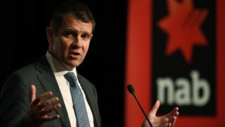 Former NSW premier Mike Baird is earning around $2 million a year.