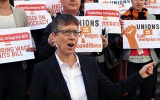 ACTU secretary Sally McManus says the minimum wage is leaving people in poverty.