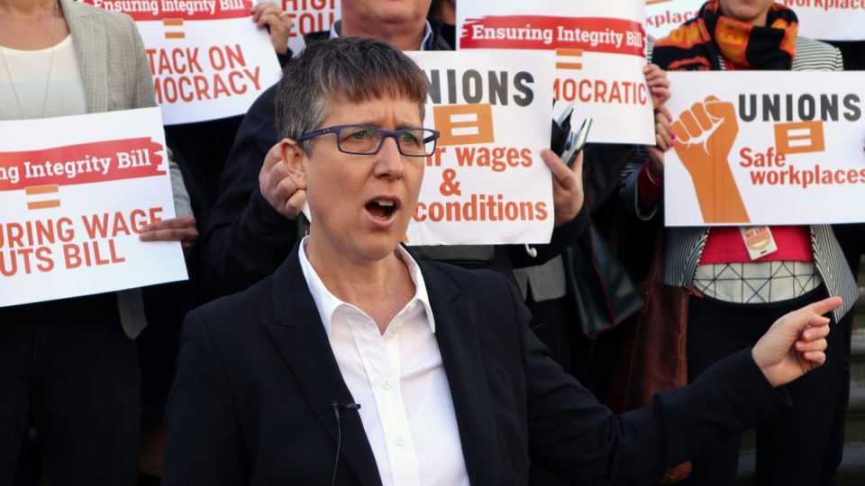 ACTU secretary Sally McManus says the minimum wage is leaving people in poverty.