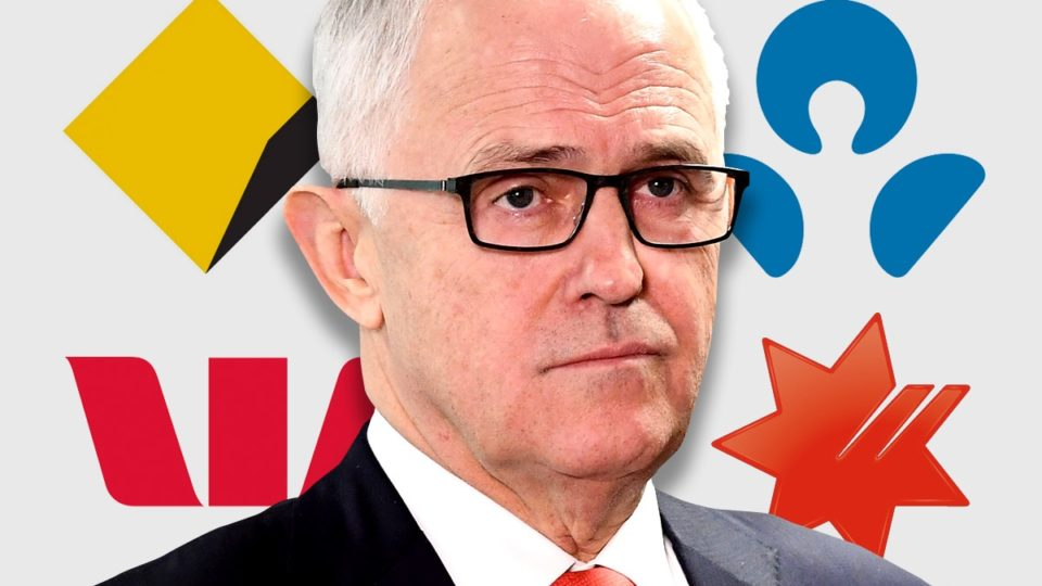 Mr Turnbull has steadfastly refused to subject the banks to a royal commission.