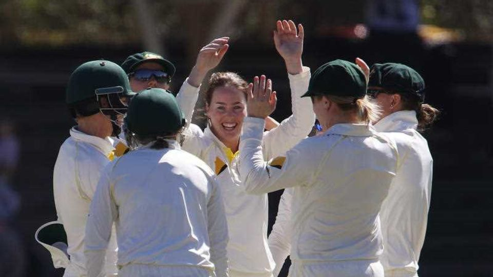 Image result for England deny Australia win in women's Ashes Test