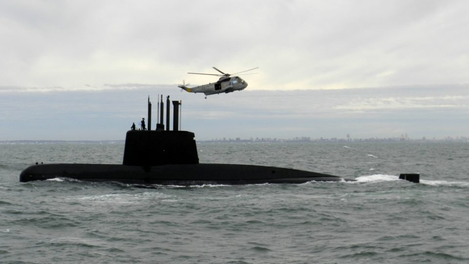 Search continues for submarine with 44 crew members aboard