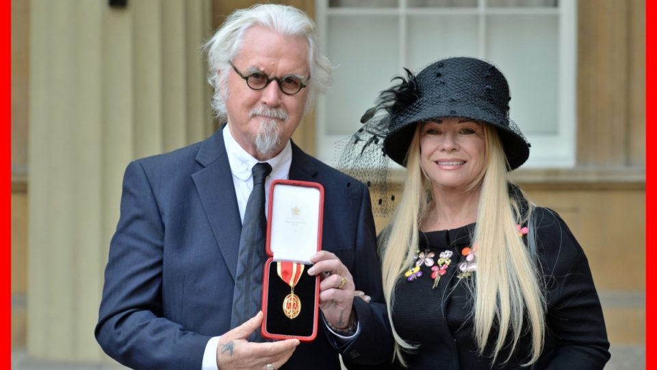 Billy Connolly is comedy royalty after being knighted at Buckingham Palace