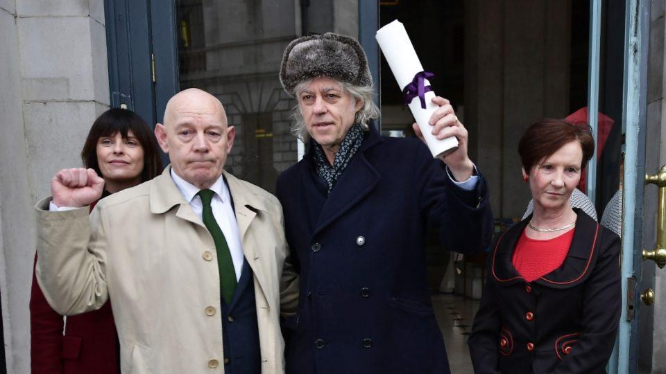 Bob Geldof Dublin