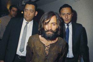 leslie van houten Charles Manson escorted to his arraignment in 1969