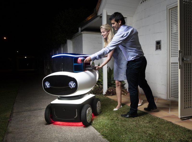 Australia Post robot