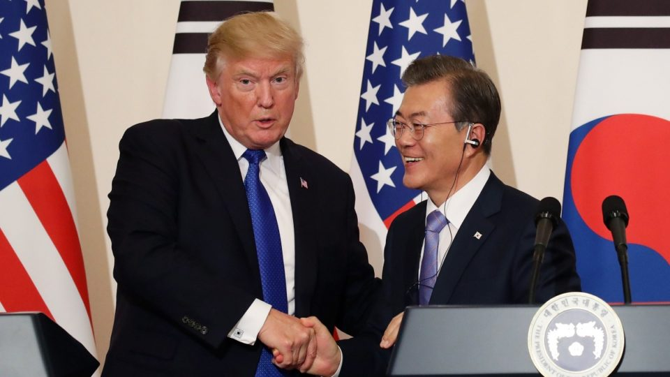 Donald Trump korea