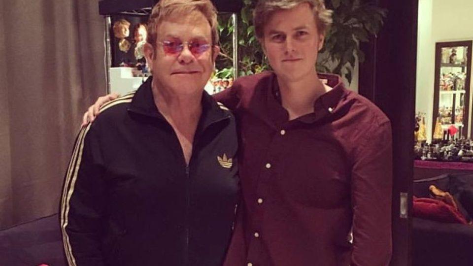 Elton John and Tate Sheridan
