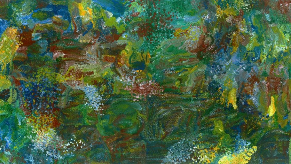 Emily Kame Kngwarreye Earth's Creation auction aboriginal art