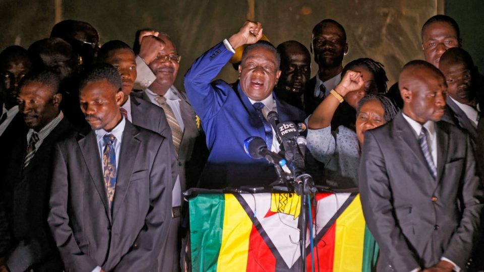 Zimbabwe Emmerson Mnangagwa