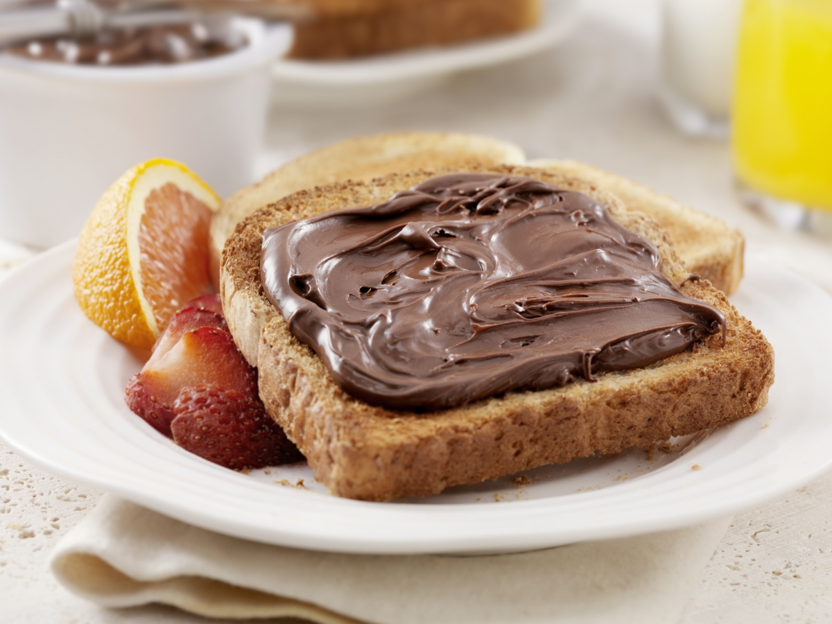 nutella-toast