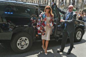 Melania Trump Sicily
