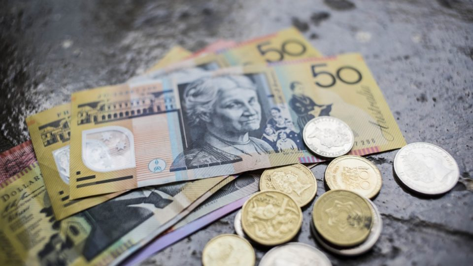 Wages rose by just 2 per cent in the 12 months to September.