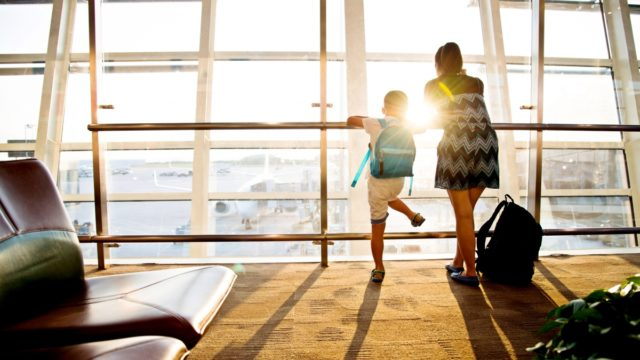 If you've got a lengthy stopover, beg, buy or bluff your way into an airport lounge.