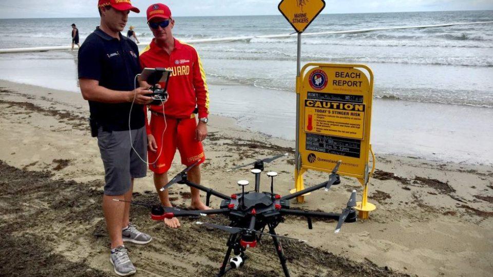 Lifesaver drone trial