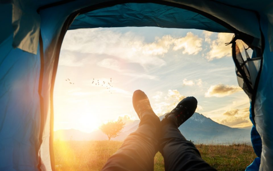Living-in-a-tent-960x600.jpg & Why I sold everything to live in a tent with my kids