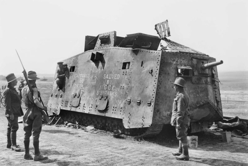 Mephisto tank captured 1918