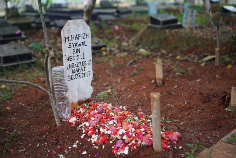 Muhammad Hafizh grave