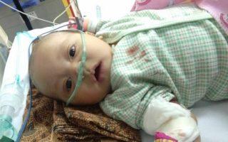 Muhammad Hafizh in hospital