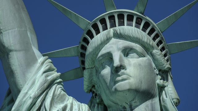 The free Staten Island ferry offers great views of the Statue of Liberty.