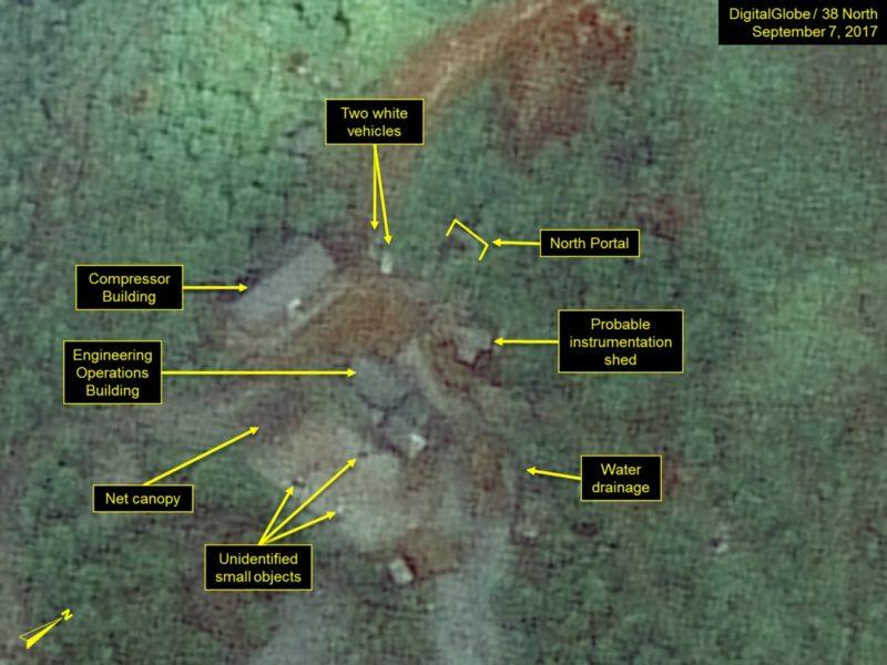 North Korea nuclear test site