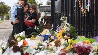 school crash memorial