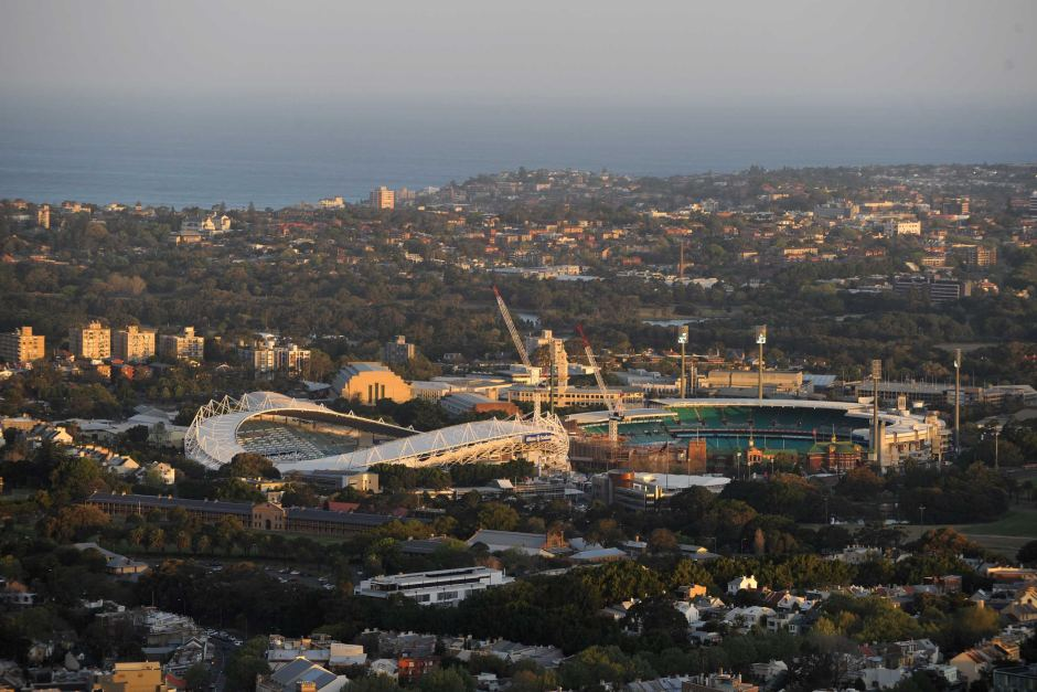 Olympic Stadium and the Sydney Football Stadium will be demolished and rebuilt
