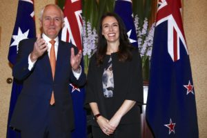 Malcolm Turnbull Jacinda Ardern