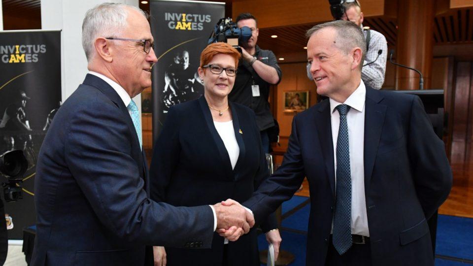 Malcolm Turnbull Bill Shorten MP citizenship