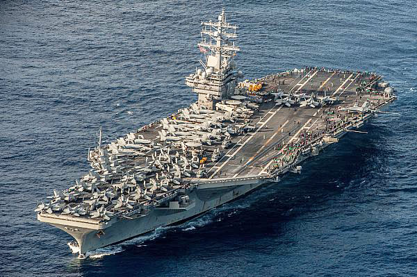 North Korea USS Ronald Reagan