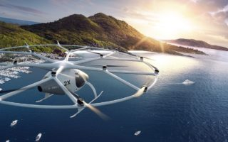 volocopter pilotless electric taxis