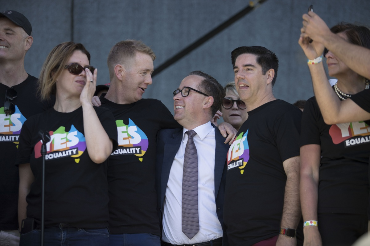 alan joyce same sex marriage