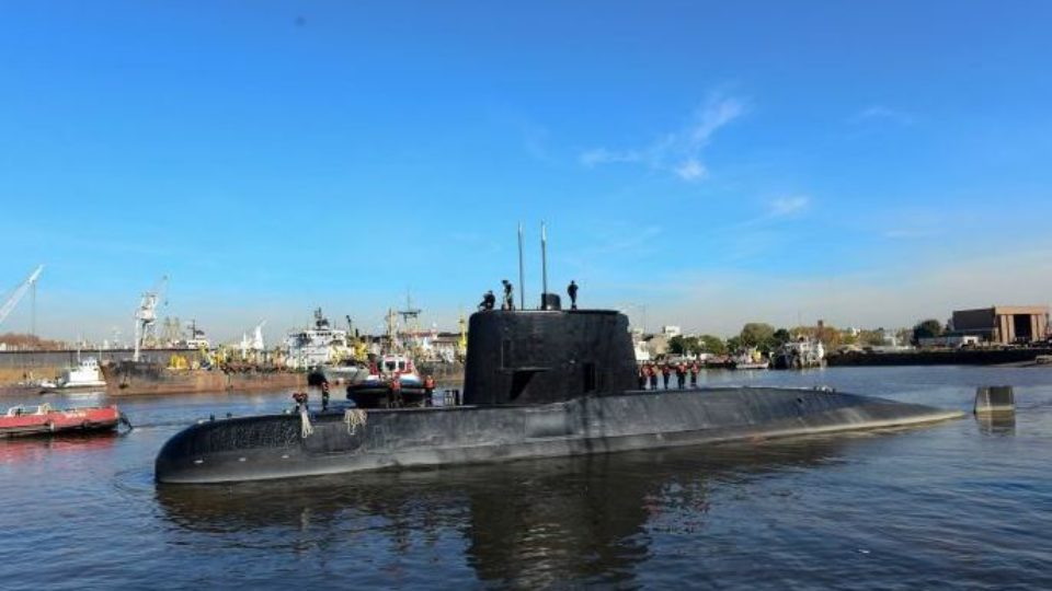 Argentinian military submarine ARA San Juan missing at sea for two days