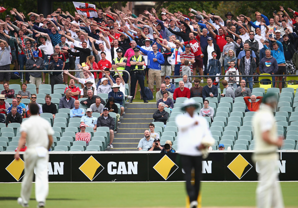 Barmy Army Mitchell Johnson