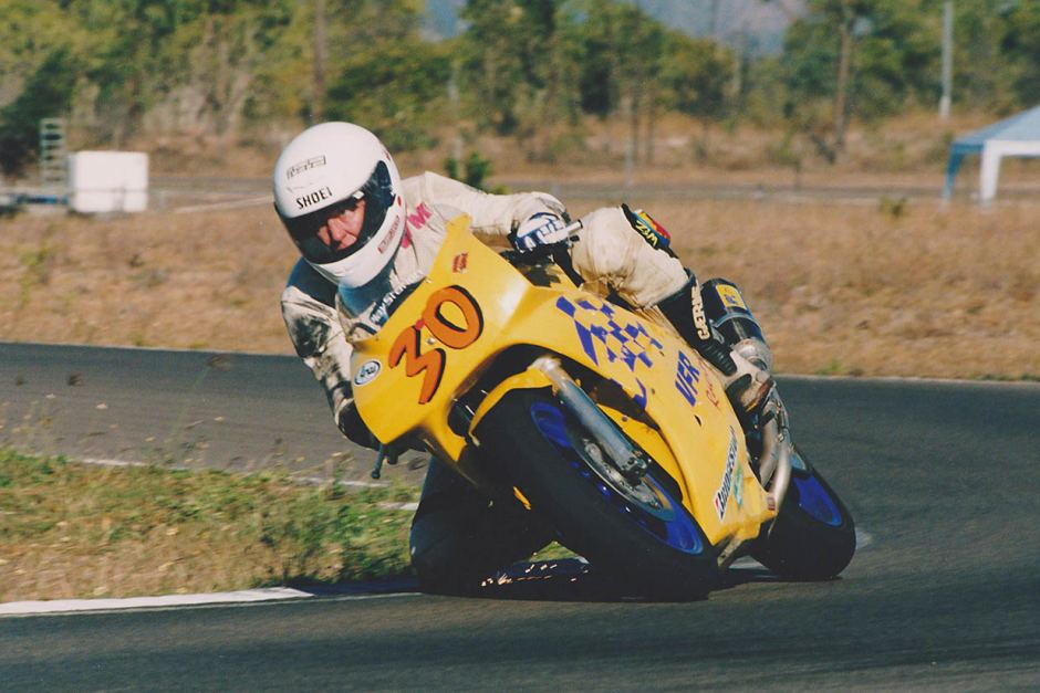 Col Meyers went from the thrills and spills of fishing to the equally dangerous world of motorcycle racing.